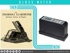 """Ingersoll """"Glarimeter in 1914 is the earliest known #instrument developed for #gloss #measurement. It is a useful instrument for measuring the gloss of a surface. Many #industries from paper mills to #automotive and even on #manufacturing process uses this item.  Check here at http://www.gainexpress.com/collections/gloss-meter to find more good items to choose from"""