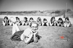 EVJF Anaïs à la plage | Camille Lafon Photographe - Montpellier sud de france