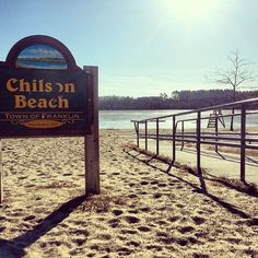 #FranklinMA's beautiful beach in the winter. #Massachusetts #NewEngland #Winter #Ice