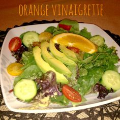 Healthy Orange Vinaigrette  Be sure to like us on Facebook for more recipes and health information: https://www.facebook.com/rootnutrition