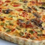 Quiche de legumes - Receitas Já, rapidas, faceis e simples Culinária para todos!!!