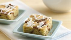 Looking for a homemade dessert using Gold Medal® flour? Then check out these cinnamon filled classic snickerdoodle bars.