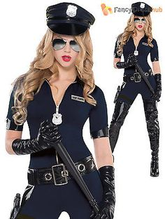 #Adults sexy police officer costume ladies wpc fancy #dress outfit #emergency cop View more on the LINK //.zeppy.io/product/gb/2/181992820521/  sc 1 st  Pinterest & Police Academy Lady Costume Secret Wishes Sexy Police Fancy Dress ...