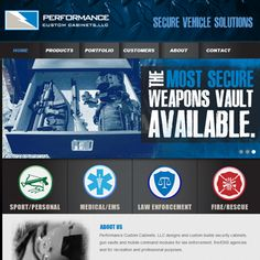 Secure Vehicle Solutions Website