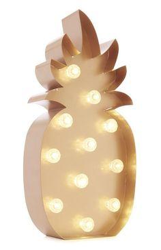 rose-gold ananas shaped led lamp from primark Pineapple Room Decor, Pineapple Craft, Pineapple Decorations, Pinapple Decor, Pineapple Ideas, Pineapple Kitchen, Pineapple Design, Primark Homeware, Pineapple Lights