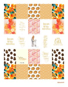 Free October Planner