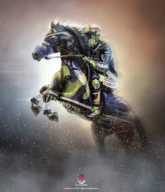Walau Gagal Juara, Valentino Rossi Tetap Legenda MotoGP | Motor Ganteng