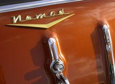 1957 Chevrolet Nomad detail on tailgate 1957 Chevrolet, Detail, Vehicles