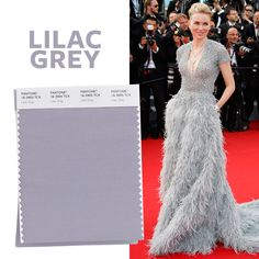 See the Top 10 Colors for Spring 2016 - Lilac Grey  - from InStyle.com