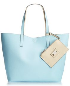 Style & Co. Clean Cut Reversible Tote with Wristlet, Only at Macy's - Handbags & Accessories - Macy's