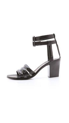 Alexander Wang Livia Mid Heel Sandals | SHOPBOP