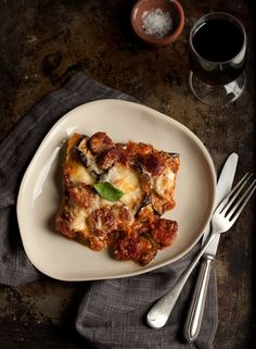 melanzane parmigiana with chorizo | Drizzle and Dip
