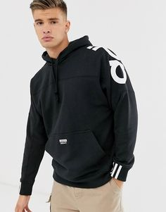 Buy adidas Originals RYV hoodie with back print in black at ASOS. With free delivery and return options (Ts&Cs apply), online shopping has never been so easy. Get the latest trends with ASOS now. Addidas Shirts, Adidas Hoodie Mens, Adidas Men, Adidas Jacket, Sneakers Adidas, Mens Cotton Shorts, Tommy Hilfiger Sweatshirt, Vintage Jerseys, Adidas Outfit