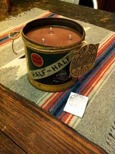 gift candle for the antique collector