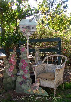 Chateau De Fleurs in the #garden