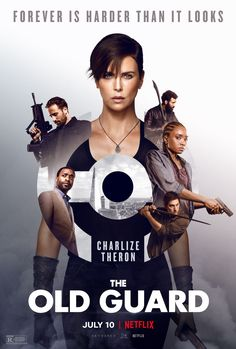 THE OLD GUARD-2020 Charlize Theron, 2020 Movies, Hd Movies, Movies Online, Funny Movies, Movie Tv, Film D'action, Bon Film, Synopsis Film