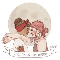 me, her & the moon