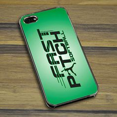Softball iPhone/Galaxy Case Fast Pitch Softball - This customizable protective case is the perfect accessory for any softball players phone.  This great softball smartphone case fits the iPhone 4, iPhone 4S, iPhone 5, and Galaxy.