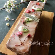 春はもうすぐ♥桜のパウンドケーキ