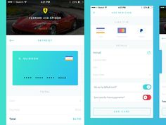 Choose Card & Payment Flow by George Gliddon