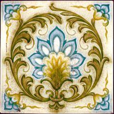 West Side Art Tiles - 4498n383p0 - English Tile>