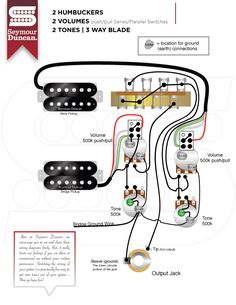 The world\u0027s largest selection of free guitar wiring diagrams. Humbucker Strat Tele Bass and more!