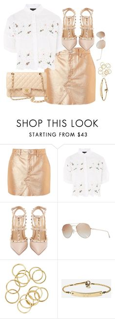 """Untitled #3873"" by theaverageauburn ❤ liked on Polyvore featuring Topshop, Valentino, Tom Ford, MICHAEL Michael Kors and Chanel"