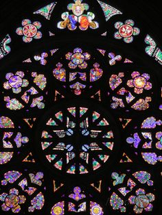 St. Vitus's Cathedral Rose Window, Prague, Czech Republic, Europe Photographic Print by Godong at AllPosters.com - I TOOK THIS SAME PHOTOGRAPH IN JUNE 2014.