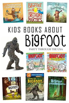Keep your kids entertained for hours by having them hide and search for a Bigfoot toy. Bring it camping to take the fun straight to the Sasquatch's woods. Includes a book list of Bigfoot kids' stories from Party Through the USA Bigfoot Toys, Real Bigfoot, Bigfoot Sasquatch, Bigfoot Birthday, Bigfoot Party, Anime Couples Manga, Cute Anime Couples, Anime Girls, Bigfoot Stories