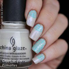Barroque nail art