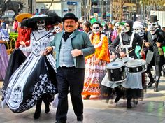 Homenaje a Jose Guadalupe Posada, en Aguascalientes Mexico.