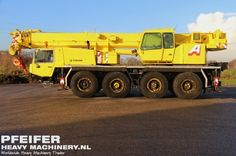 Used telescopic crane available at Pfeifer Heavy Machinery. Item Number PHM-Id 06014, manufacturer FAUN, model ATF 60-4, year of construction 1998, kilometers 155042, hours carrier 6073, hours superstructure 15579, loading (lifting) capacity (kg) 60000, boom length maximum (m) 40, fuel Diesel. More cranes at www.pfeifermachinery.com.