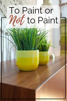 To Paint or Not To Paint| Rescued MCM Cabinet | Salvaged Inspirations    #MCM #mcmcabinet #nopaintneeded #curbsidecabinet Raw Wood Furniture, Unfinished Wood Furniture, Upcycle, Planter Pots, Diy, Painting, Inspiration, Do It Yourself, Biblical Inspiration
