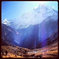#kmdadventure - Trekking to Annapurna base camp Nepal - an experience ill never forget, now to get back !