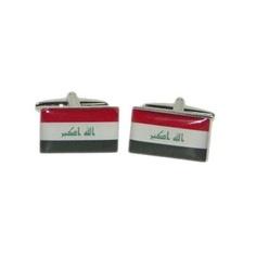 Manchetknopen Irakese Vlag