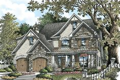 The Arcadia - House Plan# W-YAH-1172   http://www.dongardner.com/plan_details.aspx?pid=3410