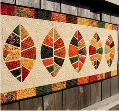 Quilt Featuring Leaf Pattern