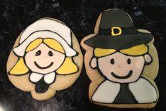Thanksgiving pilgrim cookies