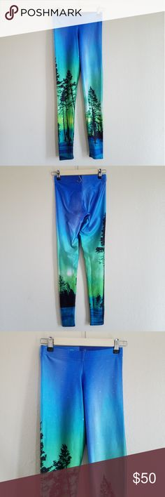 Black Milk Aurora Sky Leggings Size Small Euc Soft And Light Clothing, Shoes & Accessories Kids' Clothing, Shoes & Accs