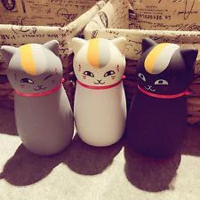 Kawaii Cute Cat thermos Cup Stainless Steel Travel Mug Kids water bottle Gift