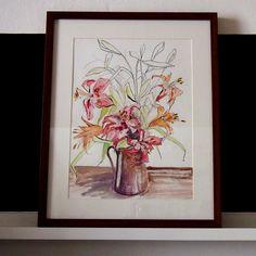 lilie | Ateliér B. KIOW Painting, Art, Lilies, Art Background, Painting Art, Kunst, Paintings, Performing Arts, Painted Canvas