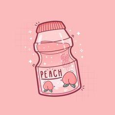 Cute Pastel Wallpaper, Cute Patterns Wallpaper, Cute Anime Wallpaper, Cute Cartoon Wallpapers, Animes Wallpapers, Cute Food Drawings, Cute Kawaii Drawings, Kawaii Doodles, Cute Doodles