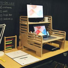 A Brilliant, Affordable Standing Desk Solution