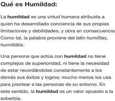 Que es la humildad …………