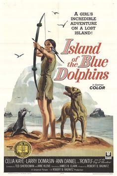 'L'isola dei delfini blu' (1964); regia: James B. Clark. Titolo originale: 'Island of the Blue Dolphins'