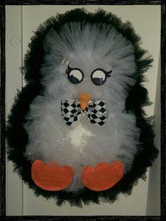Penguin wreath, for Vilma.
