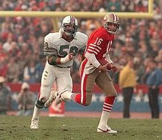 """The Dolphins selected San Jose State linebacker and defensive end Kim Bokamper with the overall pick in the 1976 NFL Draft. Bokamper started right away, and became a leader of Miami's """"Killer B's"""" defenses of the Nfl Football Players, Football And Basketball, School Football, Basketball Players, Soccer, Baseball, Miami Dolphins Memes, Nfl Miami Dolphins, 49ers Nation"""
