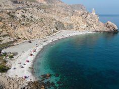 Playa Calahonda, Motril en la Costa Tropical. Más info. http://lamejorplaya.es/guia/playa-calahonda-motril/