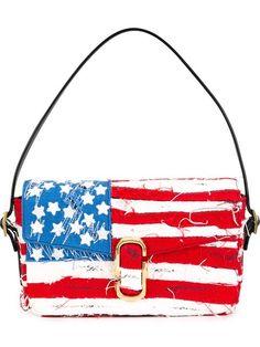 Shop Marc Jacobs American Flag shoulder bag in Eraldo from Ceggia, Italy.