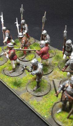 War of the Roses (1455–1487) Men at Arms (Perry Miniatures)